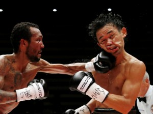 APTOPIX Japan Boxing Yamanaka Moreno
